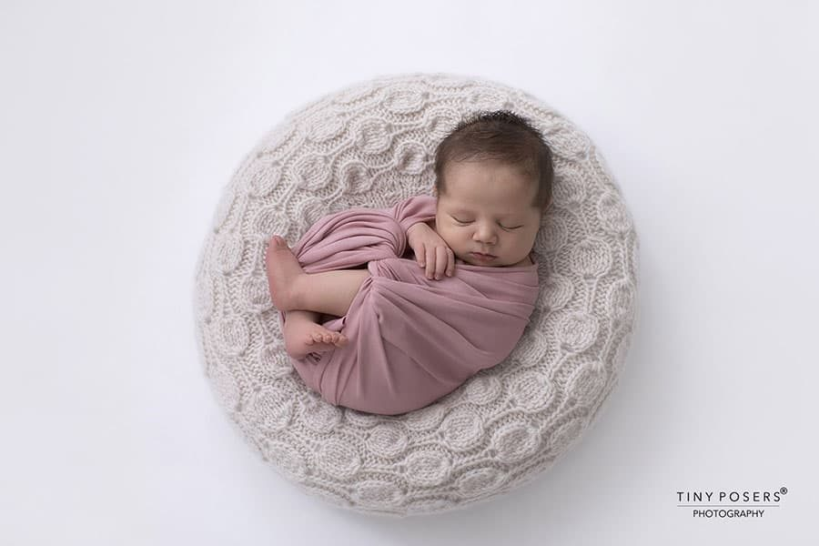 Baby Bean Bag Poser - 'Create-a-Nest'™ Ulises all newborn props