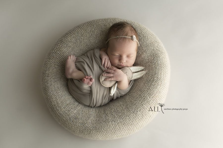 Newborn Posing Beanbag Alternative - 'Create-a-Nest'™ Miraji baby photography props for sale