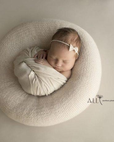 Newborn Posing Beanbag Alternative - 'Create-a-Nest'™ Miraji prop shop eu