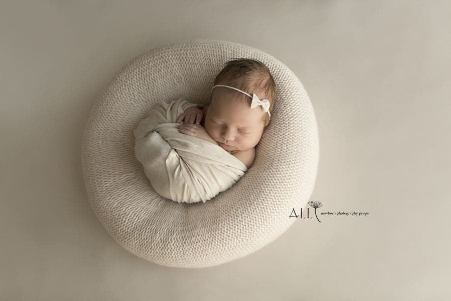 Newborn Posing Beanbag Alternative - 'Create-a-Nest'™ Miraji prop shop eu