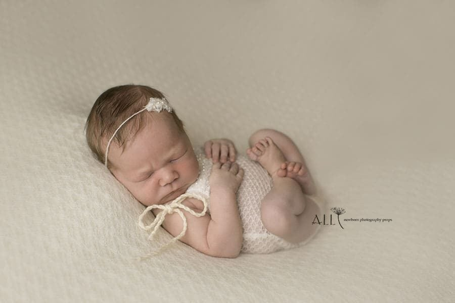 Newborn Photography Outfit Set - Coby white Europe