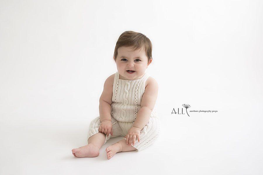 toddler girl photoshoot outfits white onesie usa