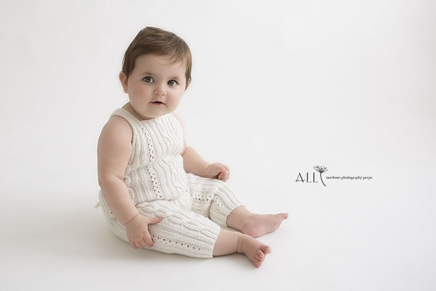 toddler boy photoshoot outfits knitted overalls white uk