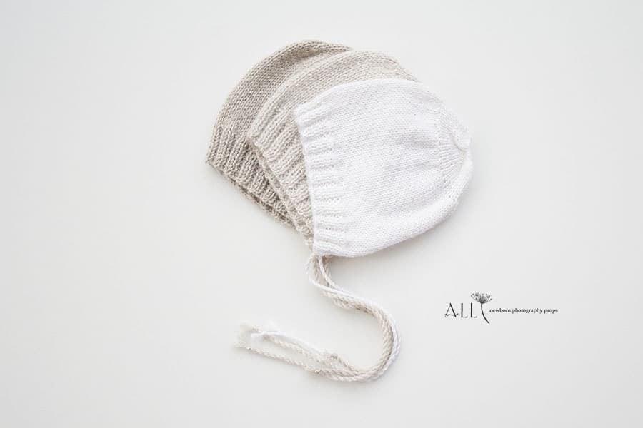 knitted-bonnet-hat-baby-neutral-girl-boy-all-newborn-props-photo-photography-prop-cream-linen