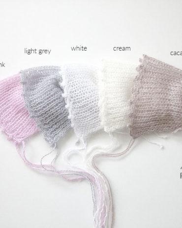 newborn-bonnet-photography-prop-brown-cream-white-grey-pink