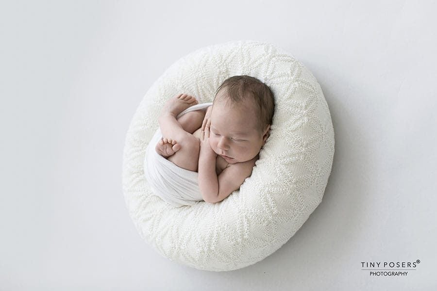 Posing Ring for Newborn - 'Create-a-Nest'™ Ralph white perfect posie europe