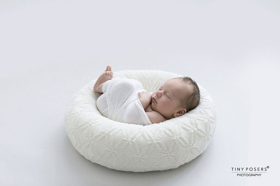 Posing Ring for Newborn - 'Create-a-Nest'™ Ralph white boy girl baby photography props for sale