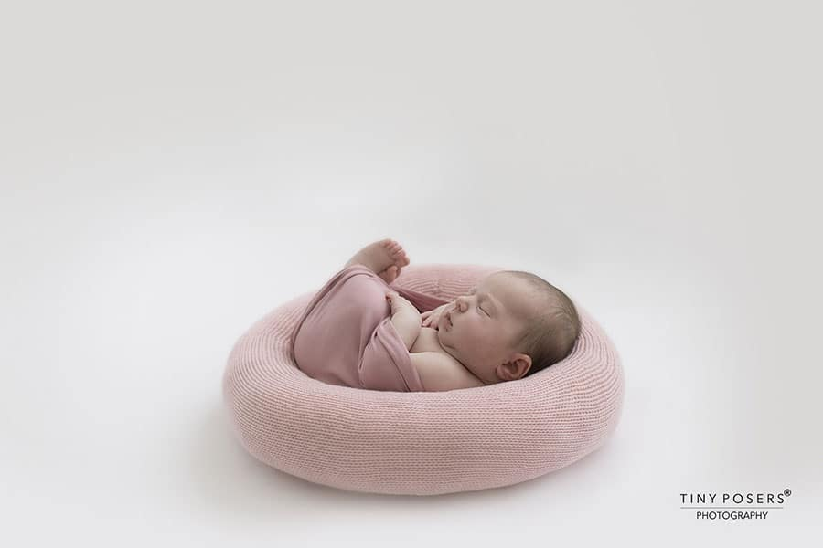 Newborn Posing Pillow 'Create-a-Nest'™ - Girl Baby Photography Posing Prop newbornprops uk