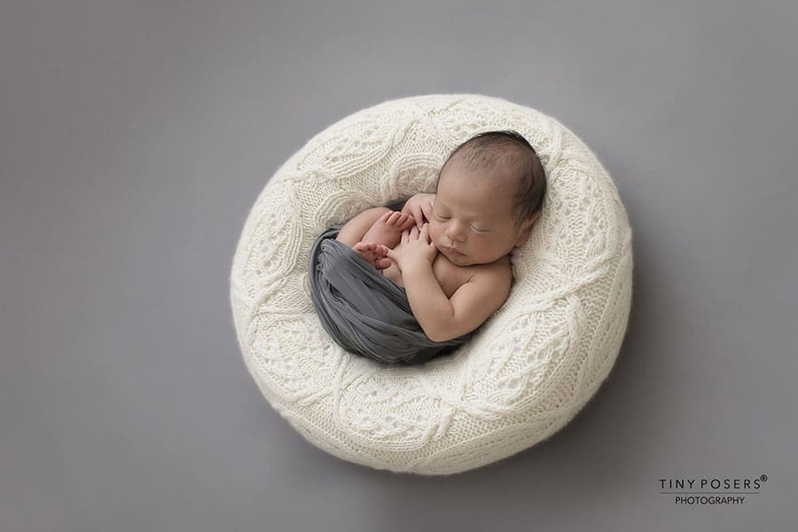 Baby Posing Prop - 'Create-a-Nest'™ Harrison white perfect posie eu