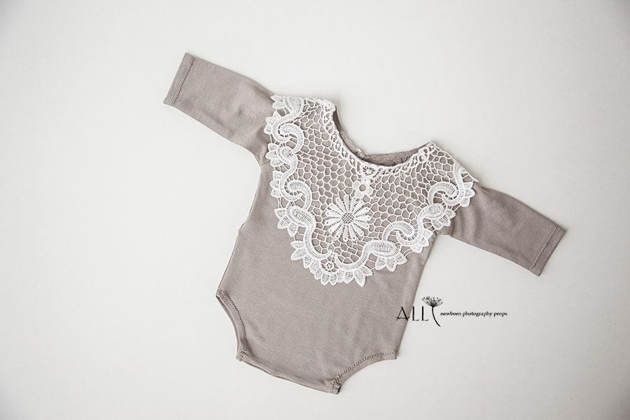 Newborn Photography Clothing – Romper Frances eu