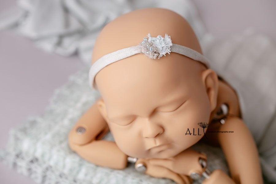 Simple Headband Tieback for Photoshoot - Katrina newbornprops eu