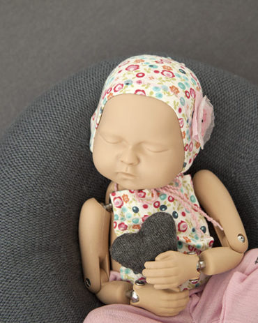 Newborn Photo Accessories – Harriet/Lila Set