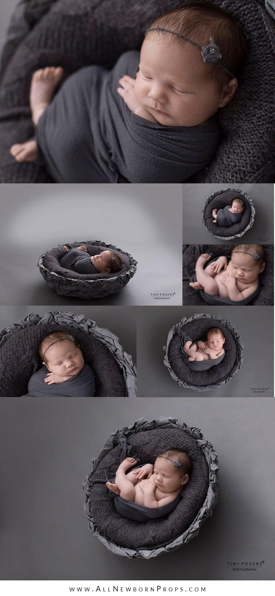 wooden newborn props girl posing basket photoshoot props for sale grey polen