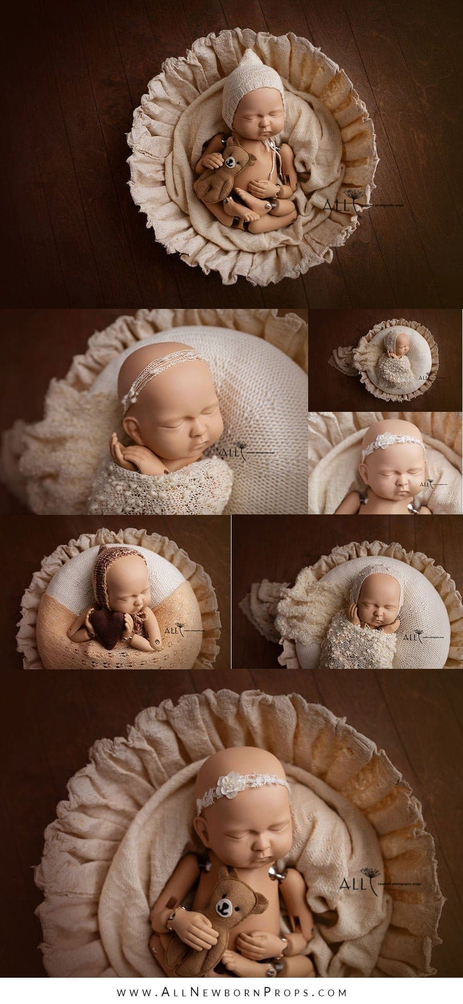 newborn photography basket baby girl boy newbornprops for sale UK