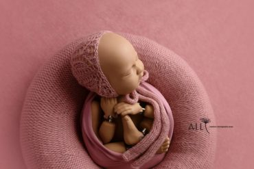 Baby Photography Prop Bundle – Donna/Molly (Dusty Pink) uk