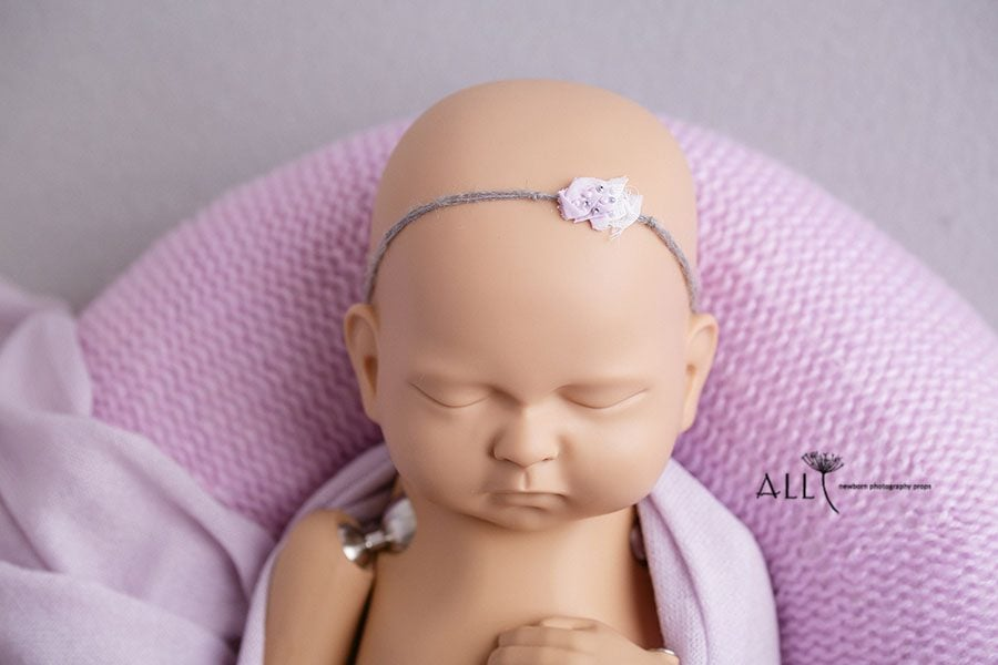 New Born Baby Girl Photography Headband - Josephine all newborn props europe uk