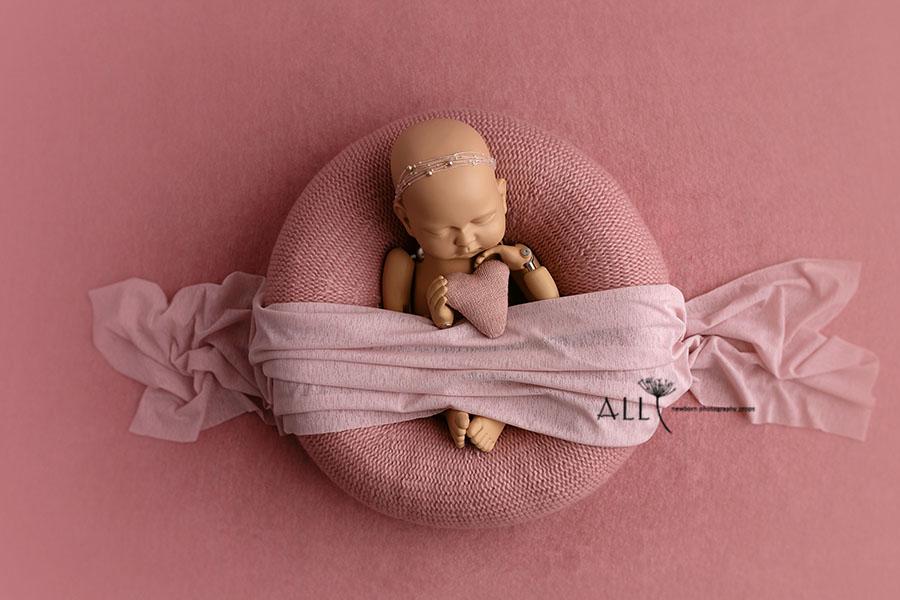 Newborn Baby Prop Bundle – Donna/Nina Matching Set Europe