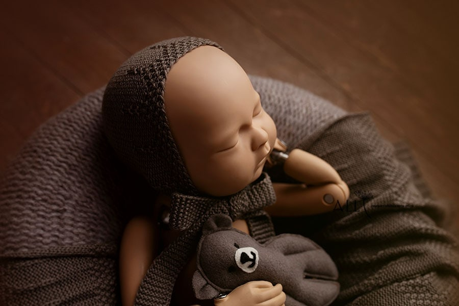 Baby Props for Pictures – Donna/Darrell Set (Mulch) europe