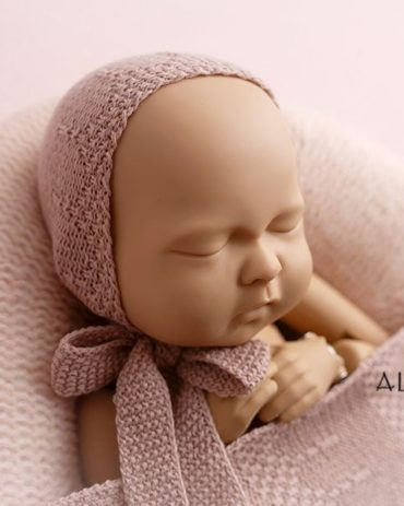 Newborn Photo Props Girl Set – Donna/Darrell (Blush) Europe