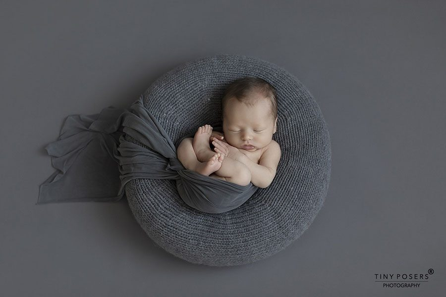 Newborn Photography Poser - 'Create-a-Nest'™ Donna Europe Grey