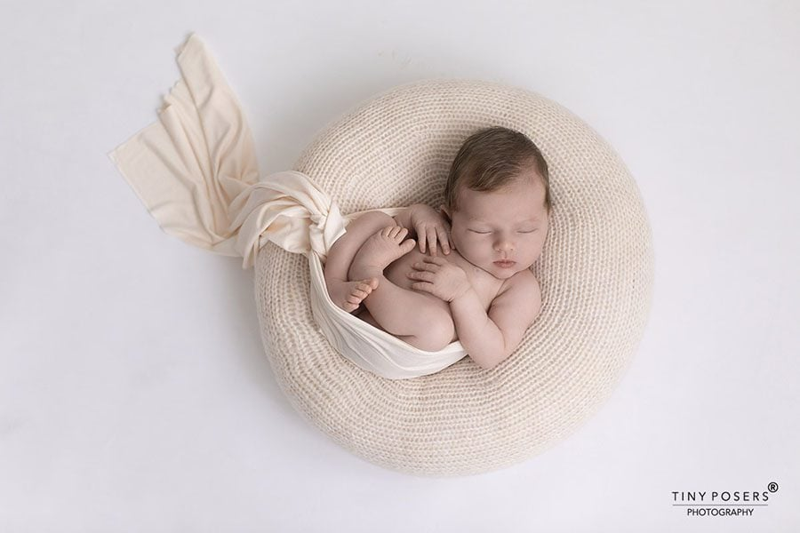 Newborn Photography Poser - 'Create-a-Nest'™ Donna Blush photoshoot props for sale