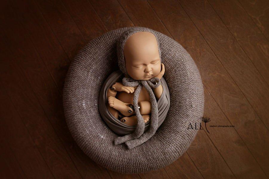 Newborn Baby Props Girl and Boy Set – Donna/Molly (Mulch) EU