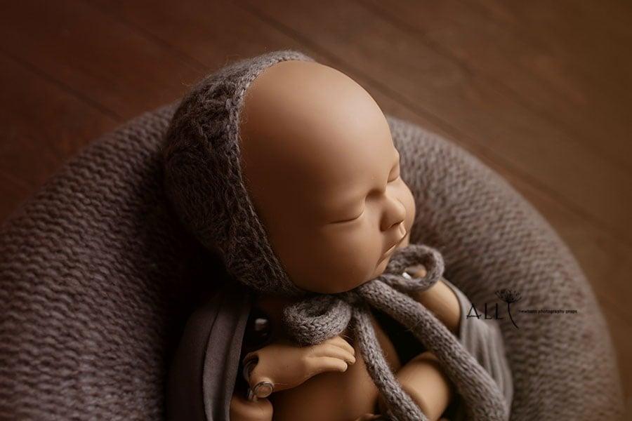 newborn photo props posing ring hat wrap boy girl