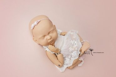 Newborn Baby Photo Prop Set Bundle: Tieback Headband for Girls Europe