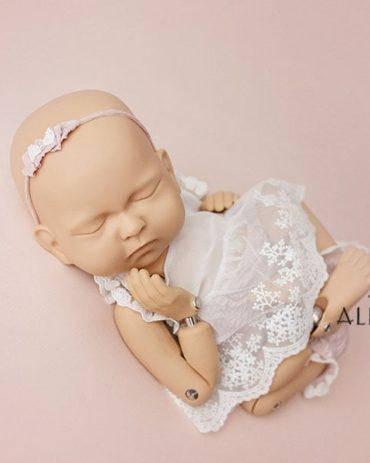 Newborn Baby Photo Prop Set Bundle: Tieback Headband for Girls Europe