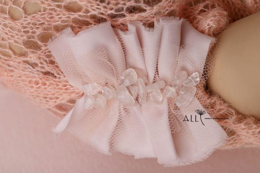 Lace Newborn Romper for Girl - Valentina europe