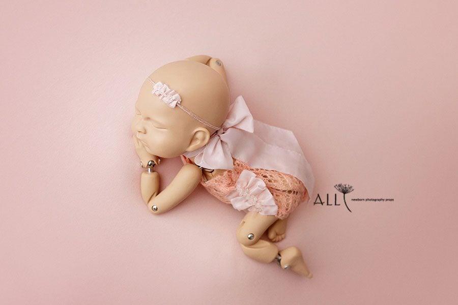 Lace Newborn Romper for Girl - Valentina eu