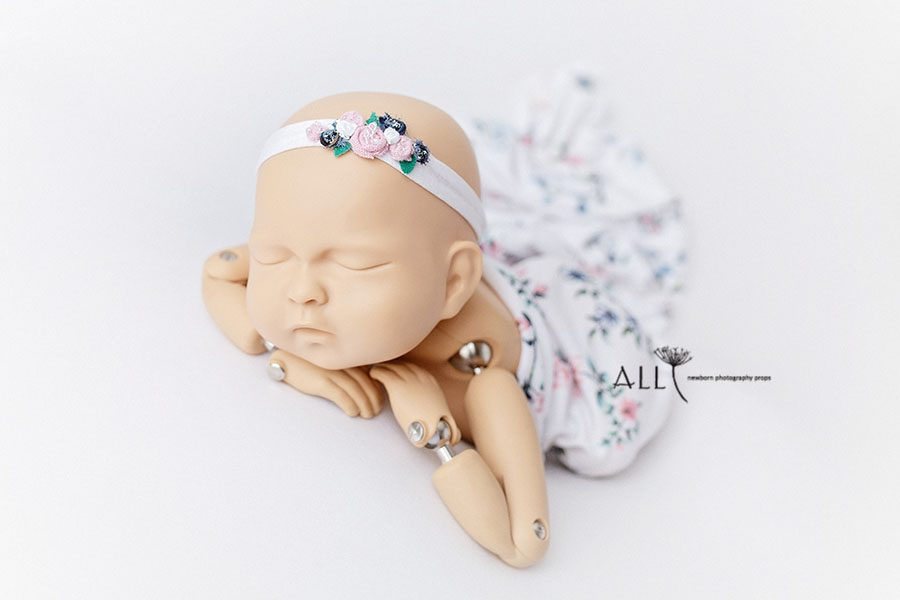 Newborn Girl Photography Props - Molly/Ursula Set