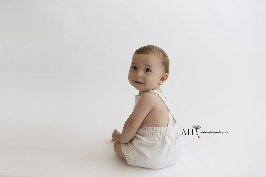 Sitter Photography Outfit beautiful romper for toddler boy