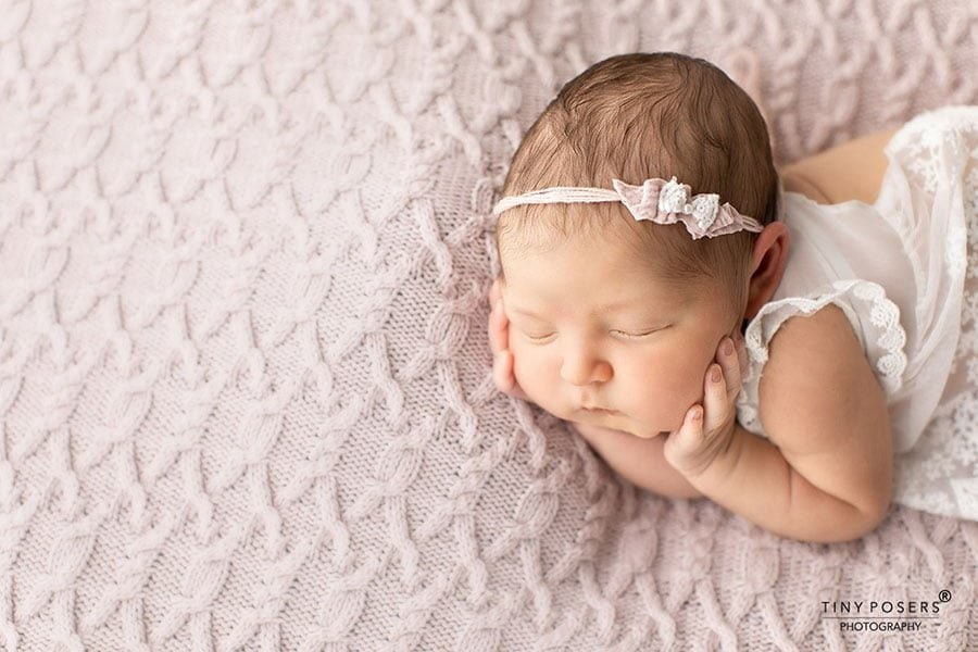 Tieback Headband for Baby Girls Photography - Ulla newbornprops eu