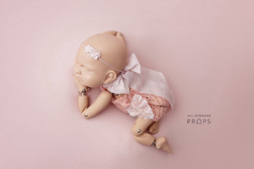 newborn-photo-prop-girl-outfit-headband-tieback-pink-europe