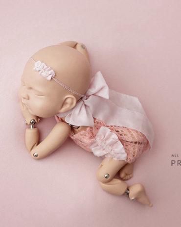newborn-photo-prop-girl-outfit-headband-tieback-pink-europe