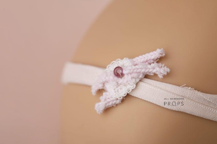 Thin-Pink-Newborn-Headband-tie-back-newbornphotoprops-eu