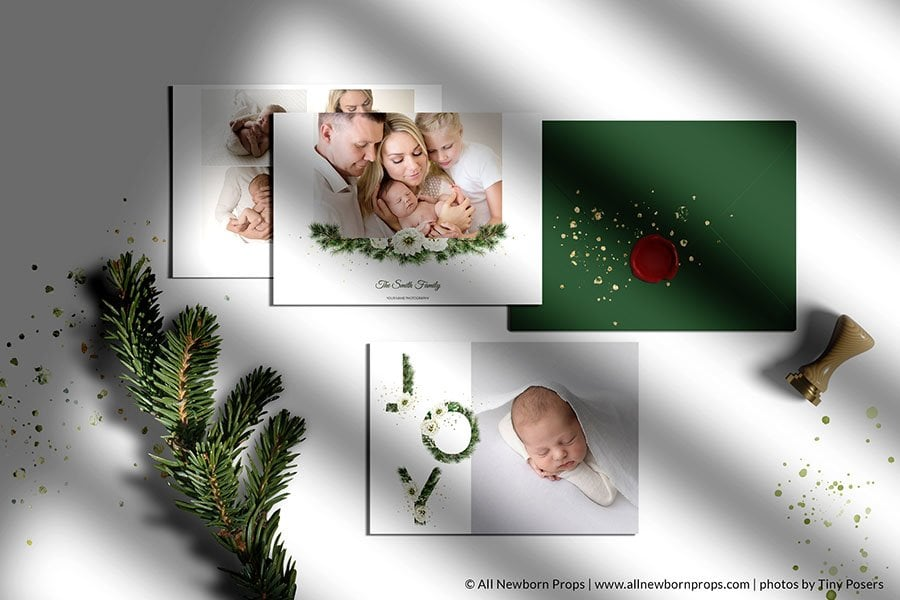digital templates for professional newborn photographers usa