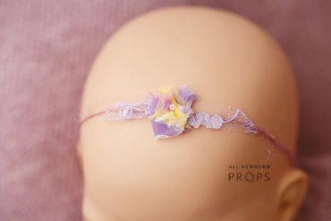 Flower Headband Newborn Prop Eu