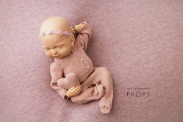 Props for Baby Photos -Travon/Marissa Set: Dusty Pink Edition Newborn Prop Shop