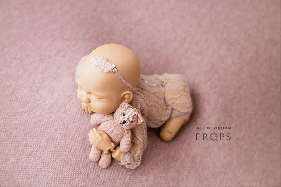 Newborn Photography Outfit Girl Knitted Romper Eu