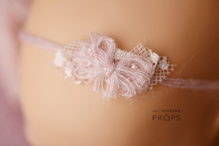 Newborn Headband Photography Prop - Roxana UK