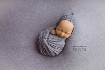 Photoshoot Props for Baby Boy Set - Knit Textured Wrap all newborn props europe