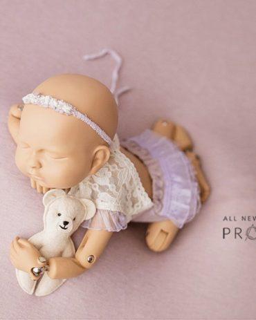 Newborn Outfits for Pictures - Girl Open Back Romper Zuri eu