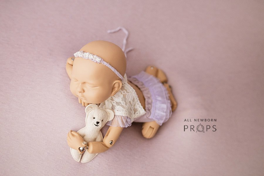 Newborn Outfits for Pictures - Girl Open Back Romper Zuri eu