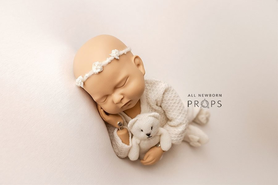 Photo Props - Molly/Marissa Set: Cream Edition all newborn props europe