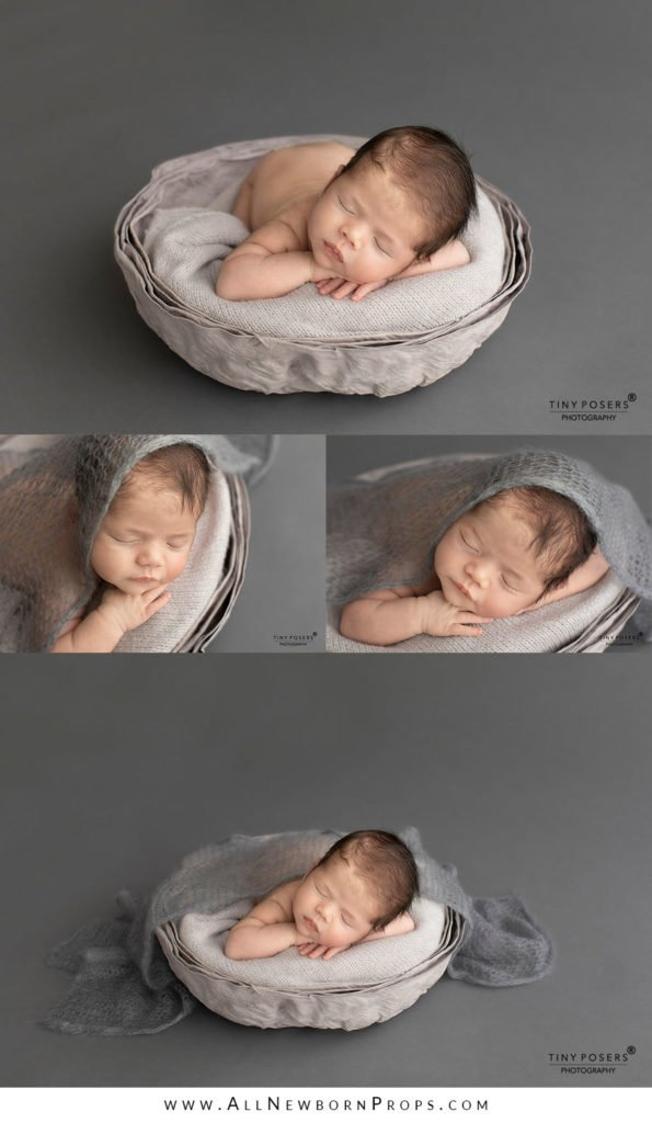 Props for Newborn Photography: baskets, bowls, buckets, vessels