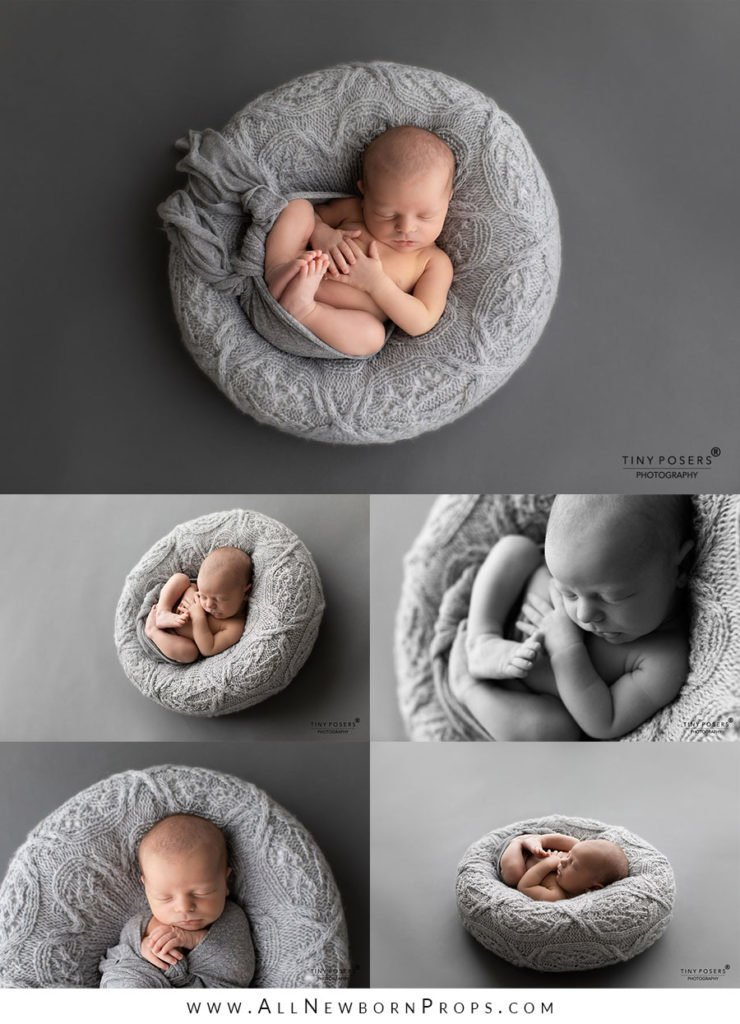 Props for Newborn Photography: bean bag alternative - poser Create-a-nest, posing pillow