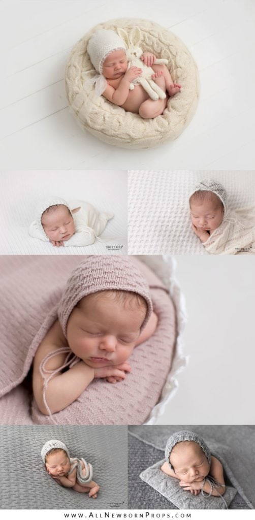 Props for Newborn Photography: hats, bonnets, cap, beanie