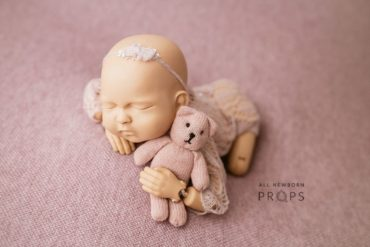 Baby Photoshoot Props - Travon/Justine Bundle: Dusty Pink Edition eu uk
